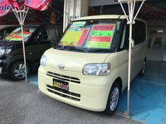 沖縄の中古車 ダイハツ タント 車両価格 53万円 リ済込 平成22年 7.6万K ライトイエロー