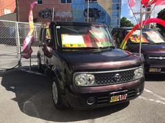 沖縄の中古車 日産 キューブ 車両価格 35万円 リ済込 平成19年 9.0万K ビターショコラP