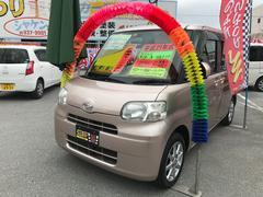 沖縄の中古車 ダイハツ タント 車両価格 47万円 リ済込 平成21年 10.6万K ピンク