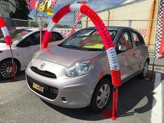 沖縄の中古車 日産 マーチ 車両価格 53万円 リ済込 平成24年 6.2万K クリスタルライラックTPM