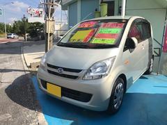 沖縄の中古車 ダイハツ ムーヴ 車両価格 22万円 リ済込 平成20年 9.3万K シャンパンゴールド