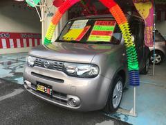 沖縄の中古車 日産 キューブ 車両価格 53万円 リ済込 平成24年 9.8万K グレー