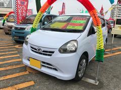 沖縄の中古車 ダイハツ ミライース 車両価格 46万円 リ済込 平成24年 8.3万K スカイブルー