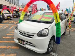 沖縄の中古車 ダイハツ ミライース 車両価格 31万円 リ済込 平成24年 12.1万K ホワイト
