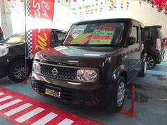 沖縄の中古車 日産 キューブ 車両価格 29万円 リ済込 平成19年 9.0万K ビターショコラP