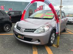 沖縄の中古車 日産 ティーダ 車両価格 49万円 リ済込 平成21年 2.4万K クリスタルライラックTPM