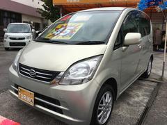 沖縄の中古車 ダイハツ ムーヴ 車両価格 39万円 リ済込 平成21年 10.0万K シャンパンメタリックオパール