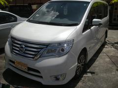 沖縄の中古車 日産 セレナ 車両価格 198万円 リ済込 平成27年 4.7万K パール