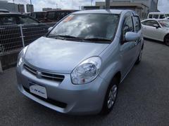 沖縄の中古車 トヨタ パッソ 車両価格 85万円 リ済別 平成26年 1.9万K シルバー