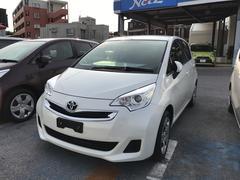 沖縄の中古車 トヨタ ラクティス 車両価格 124.2万円 リ済別 平成26年 0.7万K ホワイト