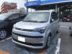 沖縄の中古車 トヨタ スペイド 車両価格 89万円 リ済別 平成24年 3.8万K シルバー