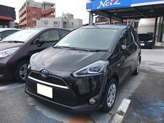 沖縄の中古車 トヨタ シエンタ 車両価格 243万円 リ済別 平成28年 0.6万K ブラック