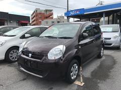 沖縄の中古車 トヨタ パッソ 車両価格 89万円 リ済別 平成25年 1.4万K ブラウン