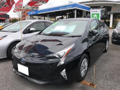 沖縄の中古車 トヨタ プリウス 車両価格 238万円 リ済別 平成29年 0.7万K ブラック