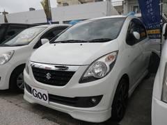 沖縄の中古車 スズキ セルボ 車両価格 32万円 リ済込 平成21年 12.4万K パールホワイト