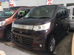 沖縄の中古車 スズキ ワゴンRスティングレー 車両価格 64万円 リ済込 平成24年 6.0万K ミステリアスバイオレットパール