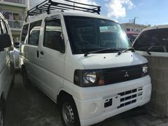沖縄の中古車 三菱 ミニキャブバン 車両価格 33万円 リ済込 平成22年 12.9万K ホワイト