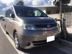 沖縄の中古車 日産 セレナ 車両価格 47万円 リ済込 平成19年 12.5万K グレー