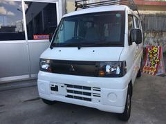 沖縄の中古車 三菱 ミニキャブバン 車両価格 ASK リ済込 平成21年 14.6万K ホワイト