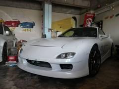 沖縄の中古車 マツダ RX−7 車両価格 129万円 リ済込 平成10年 12.8万K パールM