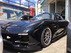 沖縄の中古車 マツダ RX−7 車両価格 98万円 リ済込 平成10年 走不明 ブラックM