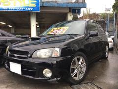 沖縄の中古車 トヨタ スターレット 車両価格 59万円 リ済込 平成10年 19.3万K ブラックメタリック