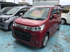 沖縄の中古車 スズキ ワゴンRスティングレー 車両価格 83万円 リ済別 平成25年 0.7万K レッド