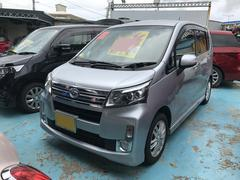 沖縄の中古車 ダイハツ ムーヴ 車両価格 65万円 リ済別 平成25年 10.2万K シルバー