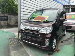 沖縄の中古車 ダイハツ タントエグゼ 車両価格 69万円 リ済別 平成24後 9.5万K プラムブラウンクリスタルマイカ