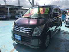 沖縄の中古車 スズキ ワゴンR 車両価格 52万円 リ済別 平成22年 8.3万K パープル