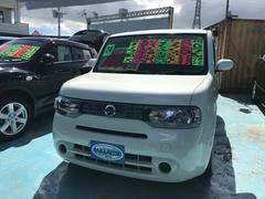 沖縄の中古車 日産 キューブ 車両価格 69万円 リ済別 平成24年 6.0万K ホワイトパール