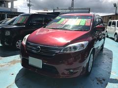 沖縄の中古車 日産 ラフェスタ 車両価格 83万円 リ済別 平成23年 7.1万K レッド