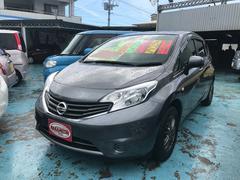 沖縄の中古車 日産 ノート 車両価格 69万円 リ済別 平成26年 8.6万K グレー