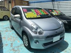 沖縄の中古車 トヨタ パッソ 車両価格 52万円 リ済別 平成23年 7.4万K シルバー