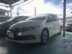 沖縄の中古車 ホンダ インサイトエクスクルーシブ 車両価格 99万円 リ済別 平成24年 7.4万K プレミアムホワイトパール