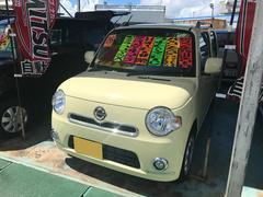 沖縄の中古車 ダイハツ ミラココア 車両価格 86万円 リ済別 平成26年 2.4万K コットンアイボリー