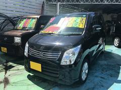 沖縄の中古車 スズキ ワゴンR 車両価格 55万円 リ済別 平成23年 9.4万K ブルーイッシュブラックパール3
