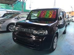 沖縄の中古車 日産 キューブ 車両価格 55万円 リ済別 平成22年 7.9万K ビターショコラP