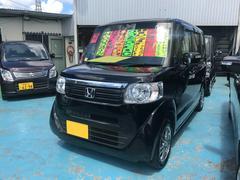 沖縄の中古車 ホンダ N BOX 車両価格 93万円 リ済別 平成25年 4.3万K クリスタルブラックパール