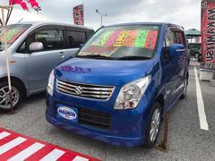沖縄の中古車 スズキ ワゴンR 車両価格 59万円 リ済別 平成24年 6.5万K ブルー