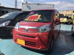 沖縄の中古車 ホンダ ライフ 車両価格 54万円 リ済別 平成23年 8.2万K ベリーレッドメタリック