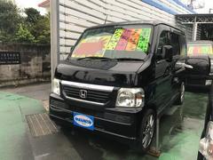 沖縄の中古車 ホンダ バモス 車両価格 58万円 リ済別 平成20年 9.4万K ブラック