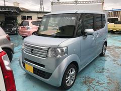 沖縄の中古車 ホンダ N BOX+ 車両価格 82万円 リ済別 平成24年 6.8万K クールミストメタリック