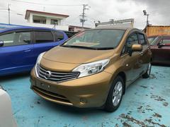 沖縄の中古車 日産 ノート 車両価格 65万円 リ済別 平成25年 7.6万K ゴールド