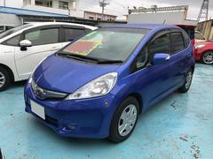 沖縄の中古車 ホンダ フィットハイブリッド 車両価格 53万円 リ済別 平成22年 9.4万K ブルー