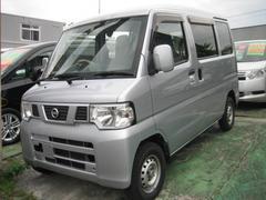 沖縄の中古車 日産 NV100クリッパーバン 車両価格 55万円 リ済込 平成24年 6.5万K グレー
