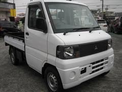 沖縄の中古車 三菱 ミニキャブトラック 車両価格 59万円 リ済込 平成18年 3.7万K ホワイト