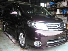沖縄の中古車 日産 セレナ 車両価格 79万円 リ済込 平成20年 8.4万K パープル