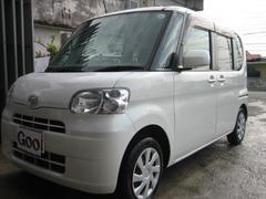 沖縄の中古車 ダイハツ タント 車両価格 65万円 リ済込 平成25年 7.8万K パールホワイト