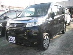 沖縄の中古車 ホンダ ライフ 車両価格 45万円 リ済込 平成23年 8.4万K ブラック